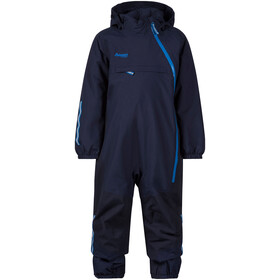 Bergans Snøtind Insulated Coverall Kids navy/dark navy/athens blue